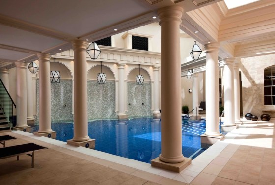 Spa pool at The Gainsborough Bath Spa. Courtesy The Gainsborough Bath Spa.