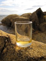 Whisky on the rocks. Literally.