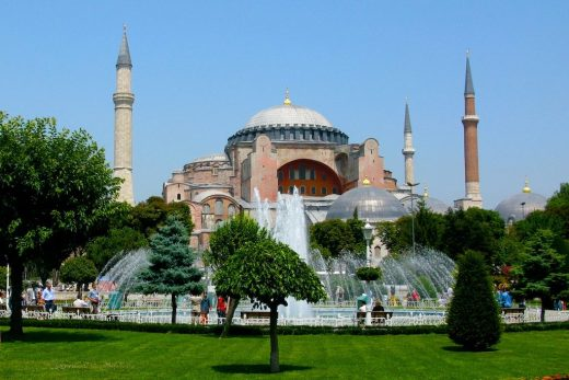 Blue Mosque Istanbul exterior