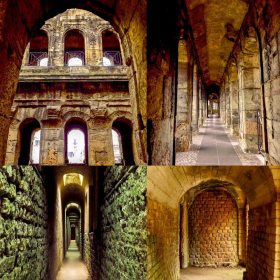 Roman arches in Trier, Germany. Copyright Amy Laughinghouse