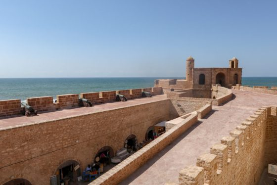 """The ramparts of Essaouira's medina may look familiar to fans of """"Game of Thrones."""" The city stood in for Astapor, home of the Unsullied, in Season 3. © Amy Laughinghouse"""