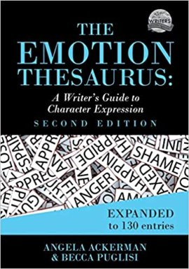 Cover of The Emotion Thesaurus by Ackerman and Puglisi