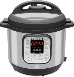 photo of 6 qt. Instant Pot with Amazon affiliate link