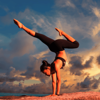 woman in inverted bow and arrow pose - Work in Progress blog by Amy LeTourneur