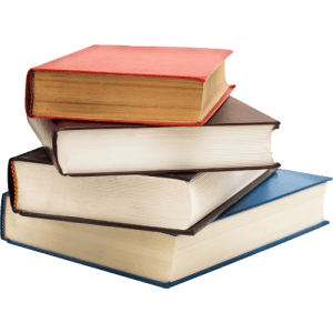 stack of books - Work in Progress blog by Amy LeTourneur