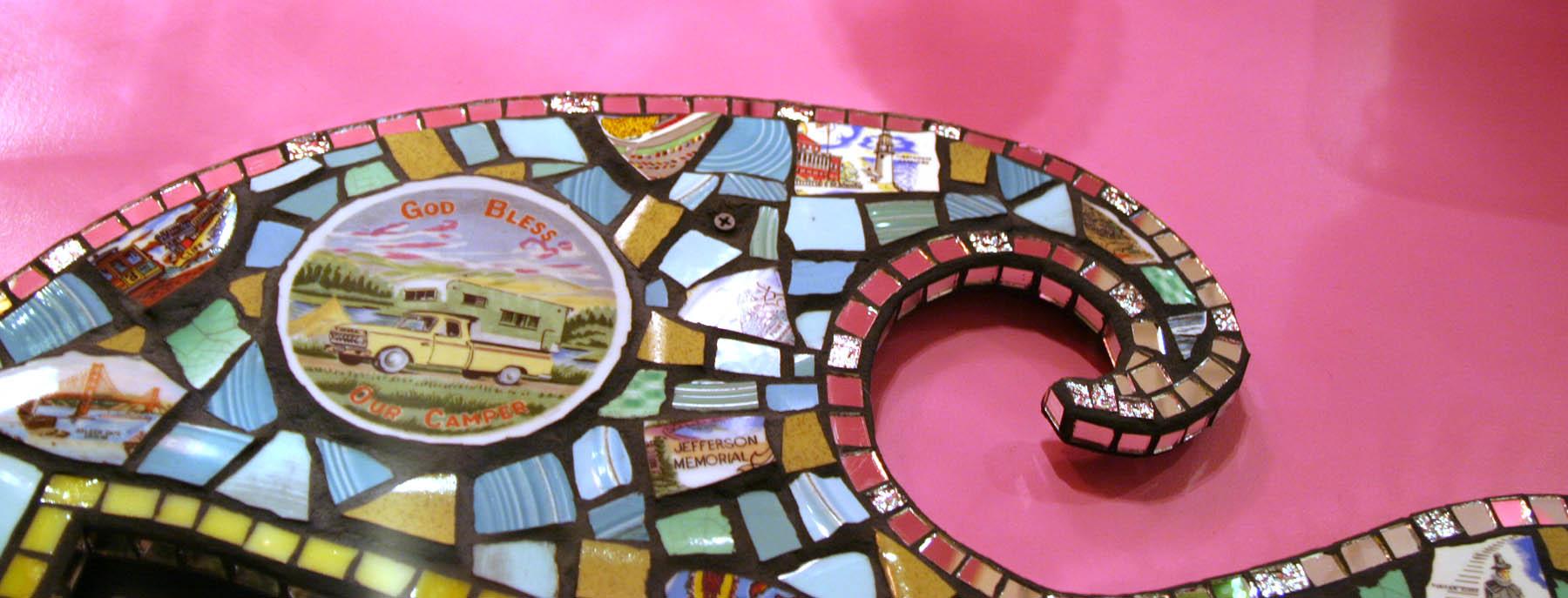 Top of Souvenir Mirror