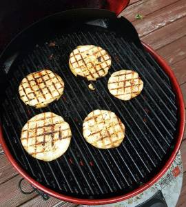 Its grilled eggplant season! One of my favorite times ofhellip