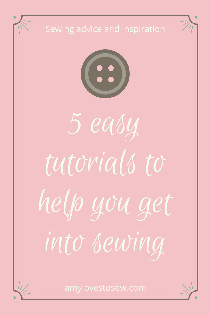 Easy sewing tutorials