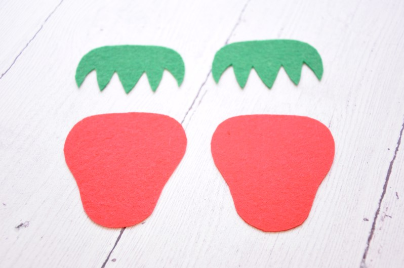 Strawberry-shapes