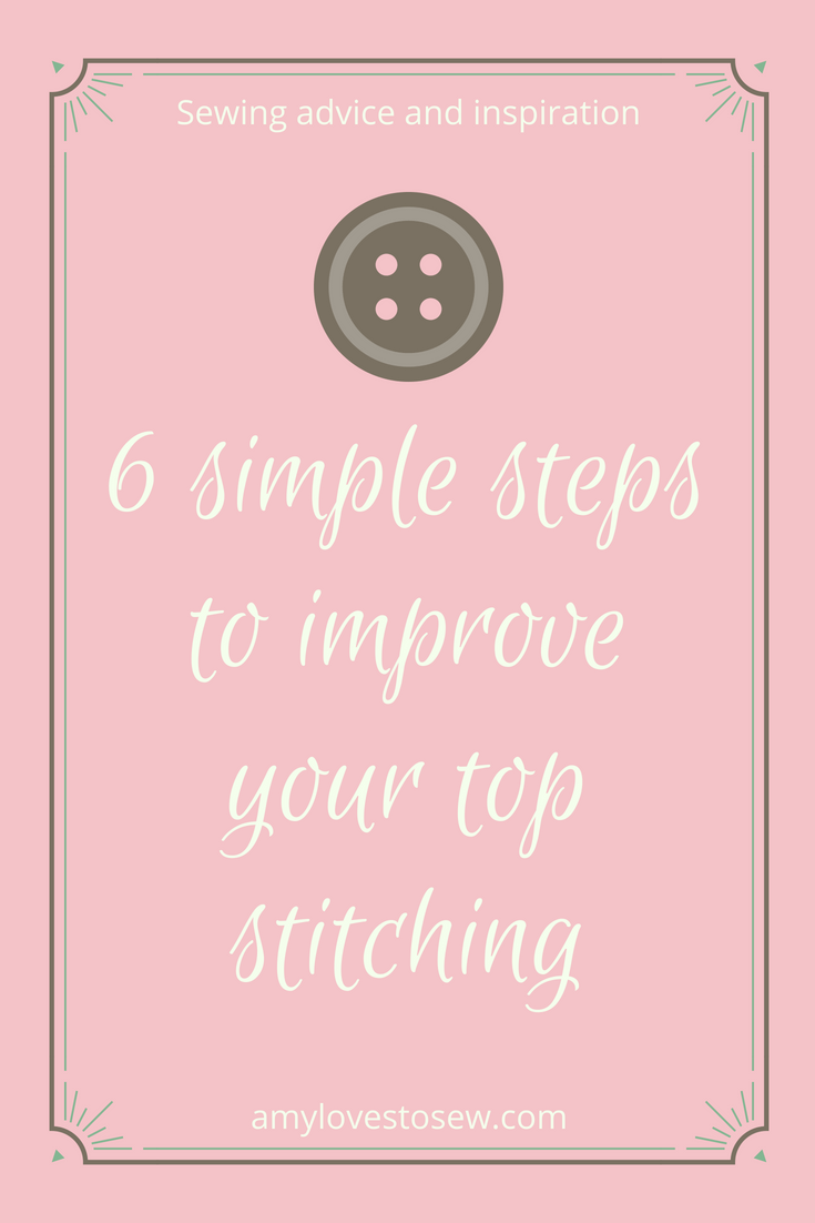 how to top stitch