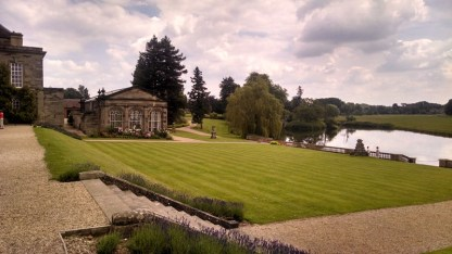 "The Orangery, on the banks of the ""improved"" River Avon."