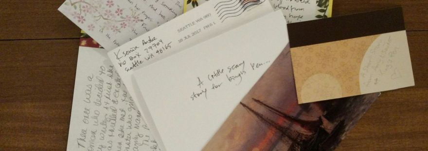 author write stories to mail