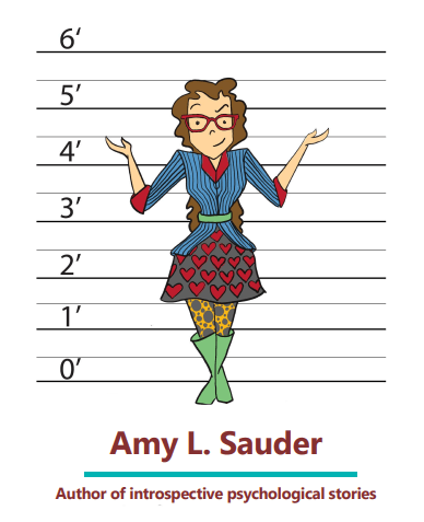Amy L Sauder business card - illustration by Jennifer Esther Wieland