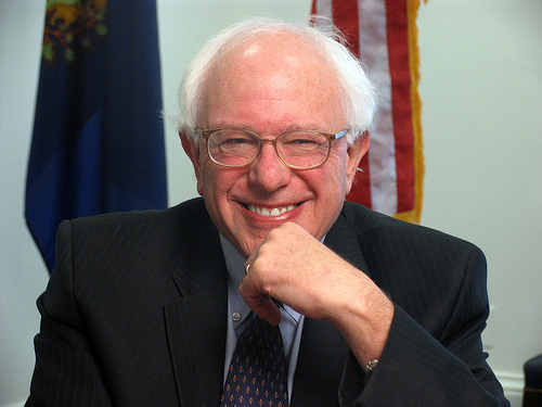 This photo of U.S. Senator Bernie Sanders is by Flickr user Truthout and photographer Troy Page.
