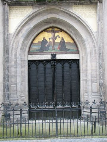 Wittenberg All Saints Church, The Theses Doors, Wiki AlterVista