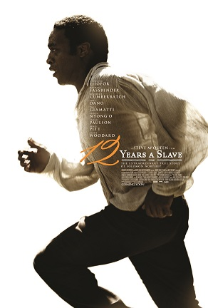 """Theatrical release poster for """"12 Years a Slave"""", copright Fox Searchlight Pictures"""