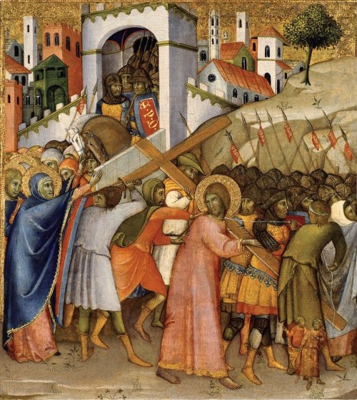 """Way of Calvary"" by Andrea di Bartolo, circa 1400"