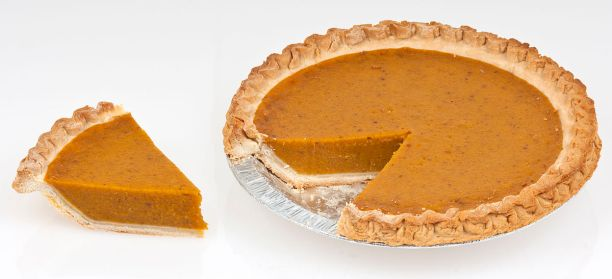 Mmmm, pumpkin pie! Photo by Wikipedia user Evan Amos