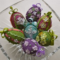 Celebrating Spring With Vintage Inspired Easter Eggs