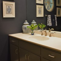 Blue and White Chinoiserie Bathroom