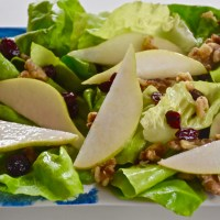 Thanksgiving Sides: Cranberry and Pear Holiday Salad