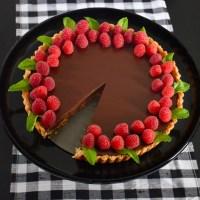 Chocolate Cabernet Tart