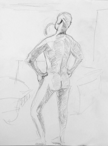 Life drawing 3, 2016