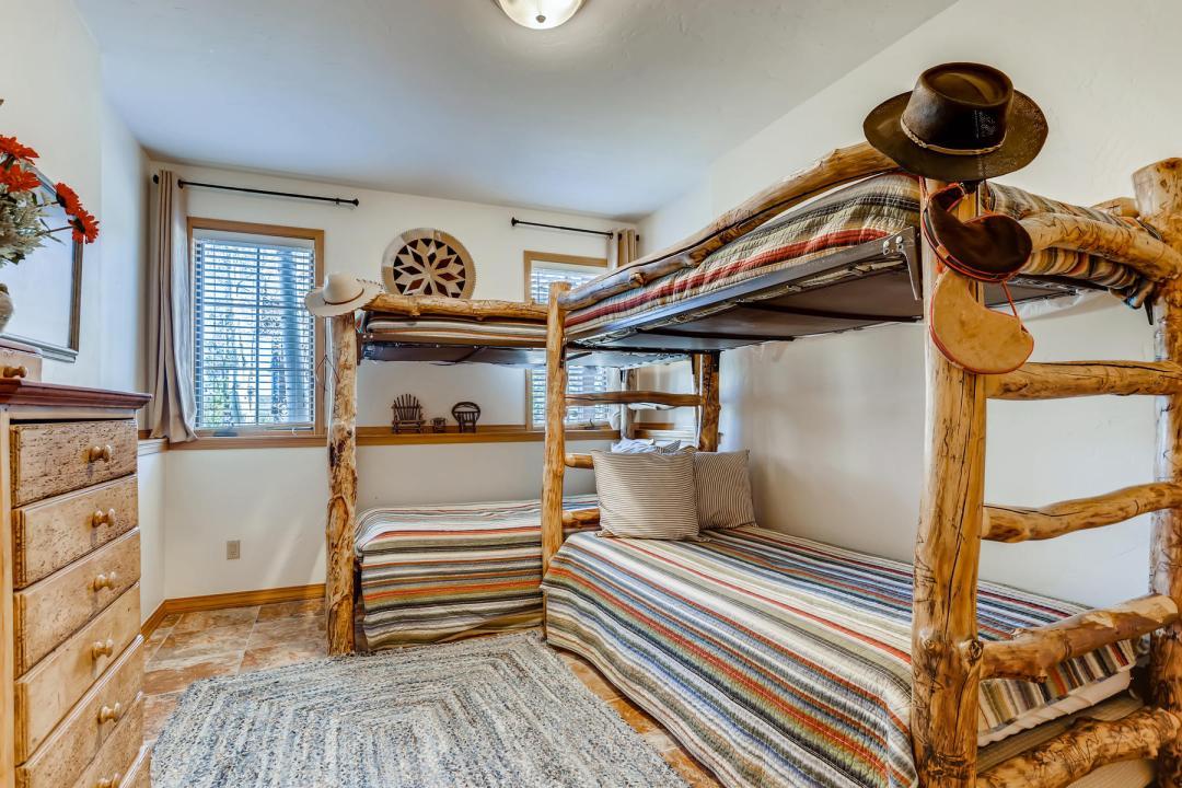 555 Wooden Canoe Dillon CO-Lower Level Bedroom