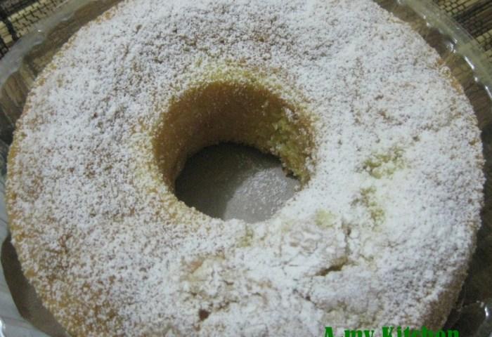 Vanilla Sponge Cake Butter Cake A My Kitchen
