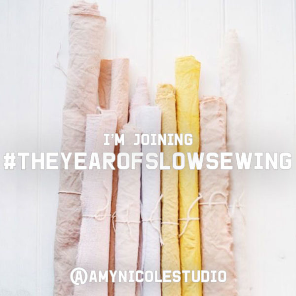 theyearofslowsewing graphic