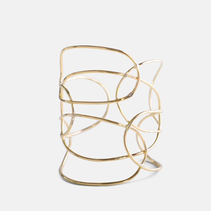 Lattice-Bracelet-Gold