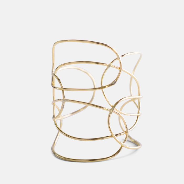 Lattice-Bracelet-Gold