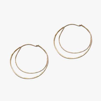 Crescent Hoops - Amy Nordstrom Fine Jewelry