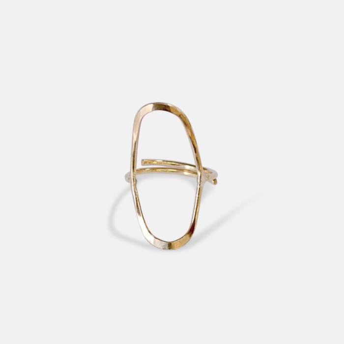 Capsule Ring - Gold Jewelry Amy Nordstrom
