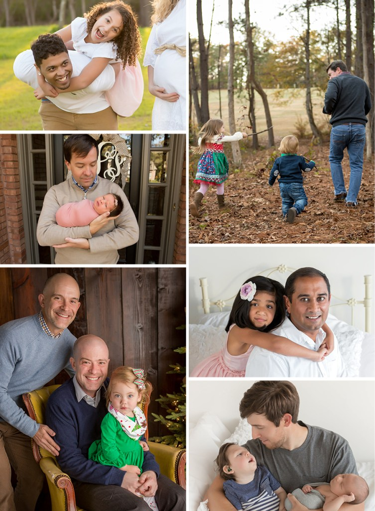 Happy Father's day photos with their kids