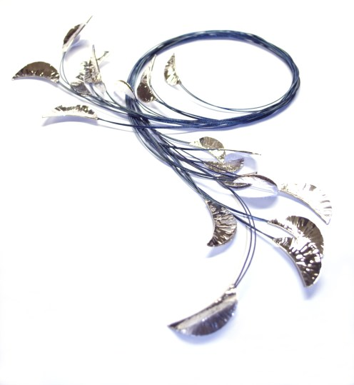 Nature Of Metal, 2010, steel cable, 925 silver