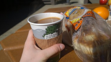 Bagels and coffee, what the world needs