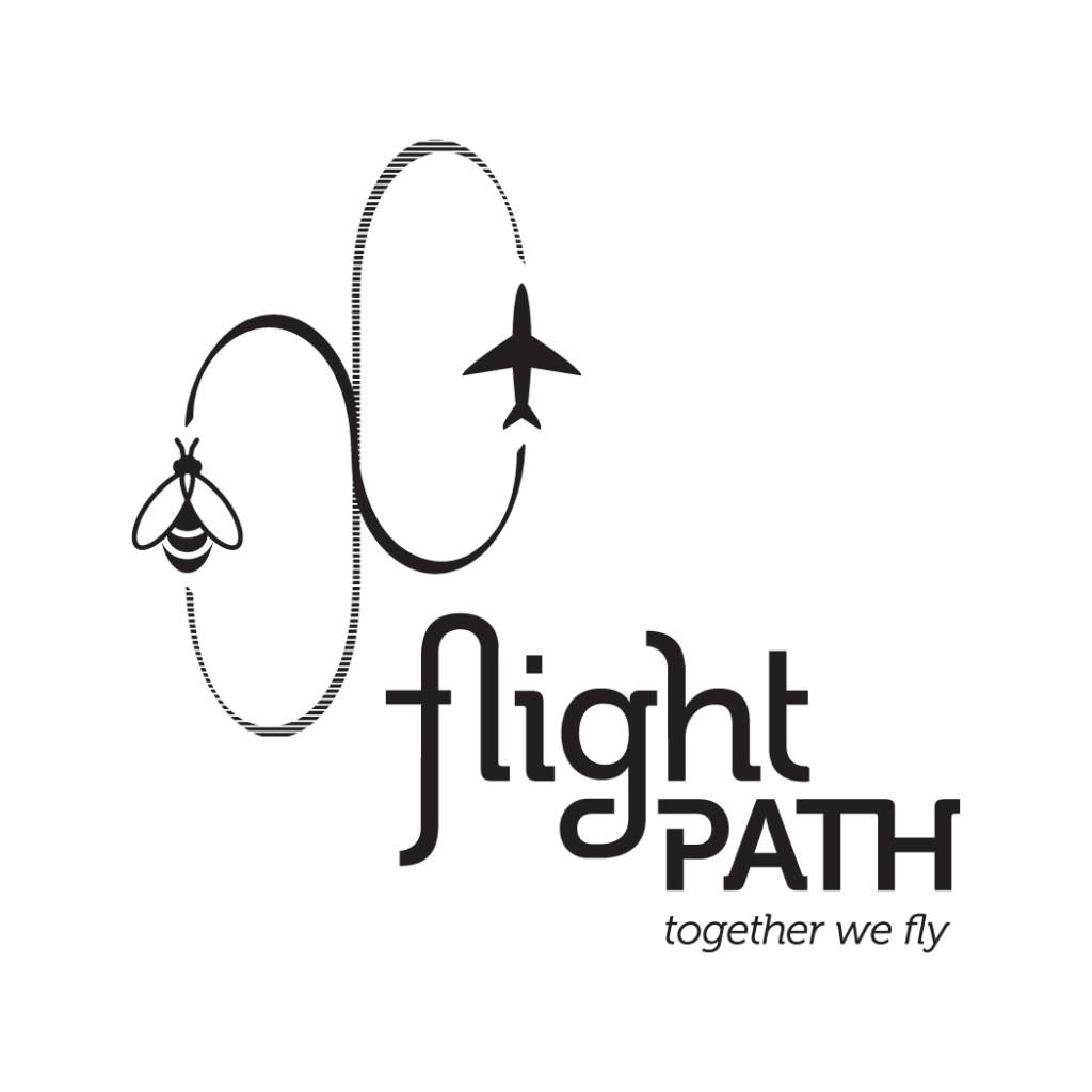 Flight Path Logo Design Amy Redmond Art Direction