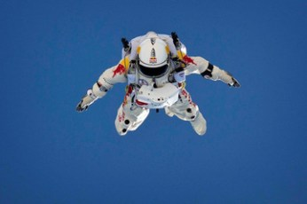RedBull icon space dive