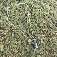 Peridot and Mixed Stone Necklace