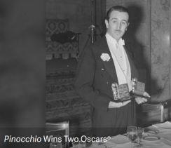 Walt Disney - Pinocchio Wins Two Oscars