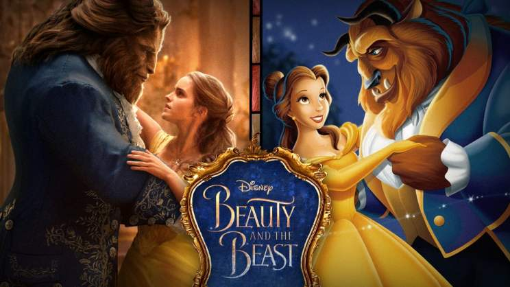 Disney Beauty and the Beast 1991, 2017