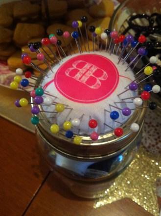 Button Box Pincushion
