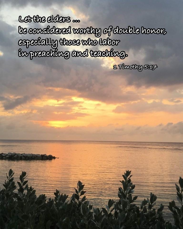 1 Timothy 5:17