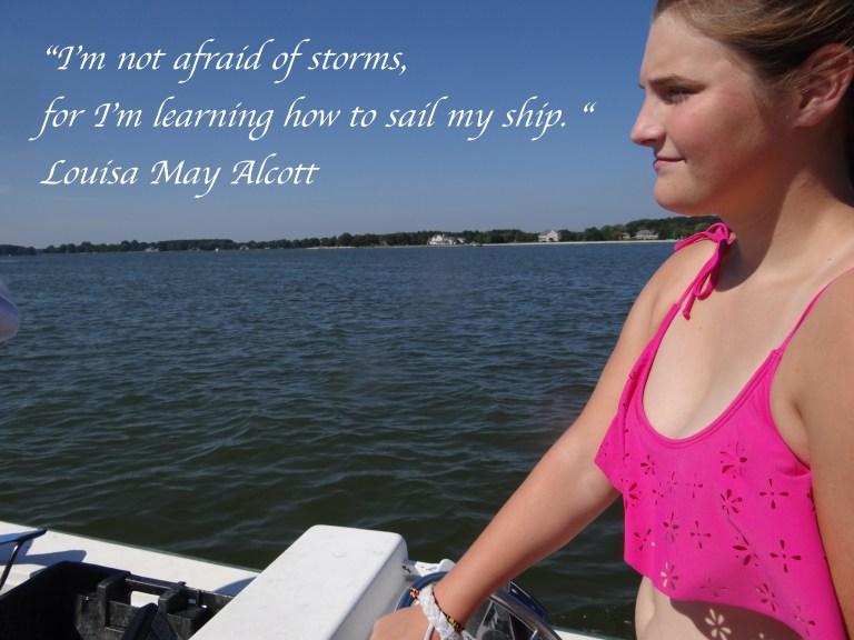 I am Not Afraid of Storms - Alcott