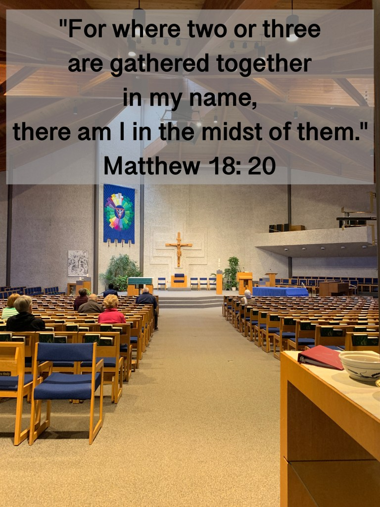 Holy Spirit Church Saskatoon Matthew 18:20