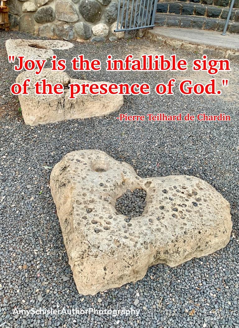 Joy - sign of God