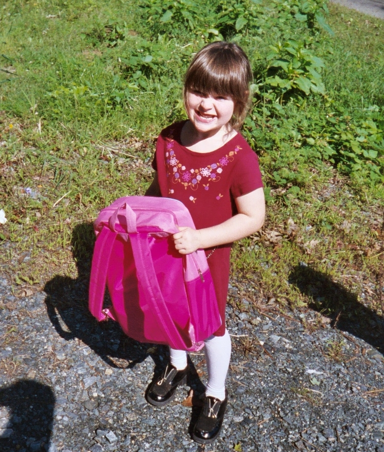 Katie's 1st day of Pre-K
