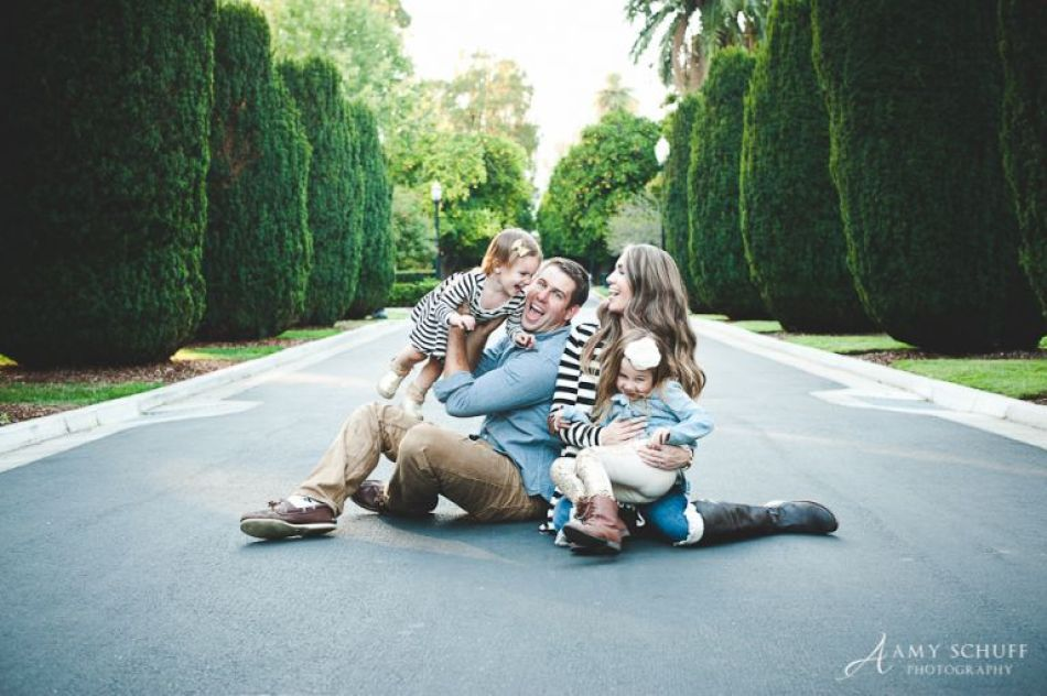 Capital Park Sacramento Family Session - Amy Schuff