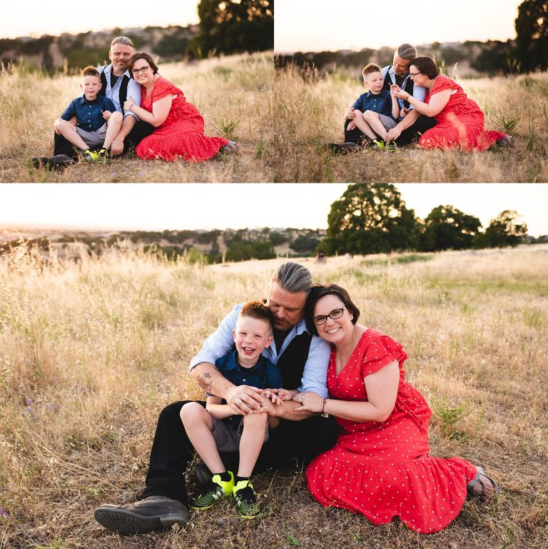 amy schuff photography family photo session in the hills